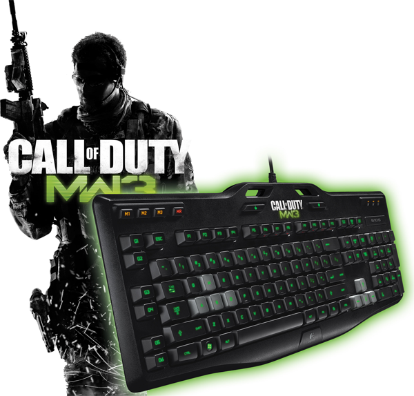Clavier Call of Duty MW3