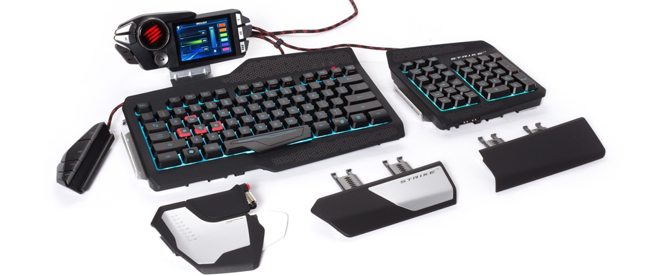 Mad Catz Strike 7 Test Personnalisable Et Ultra Complet