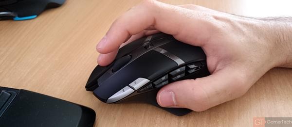 Souris Gaming en Claw Grip