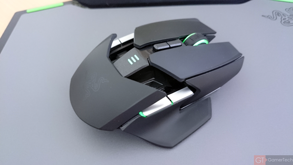 Souris gaming Wireless pour gaucher