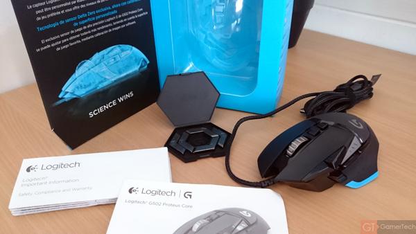 Unboxing Logitech G502