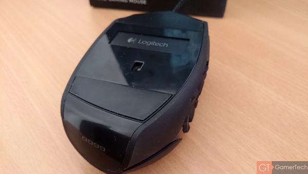 Capteur laser de Logitech