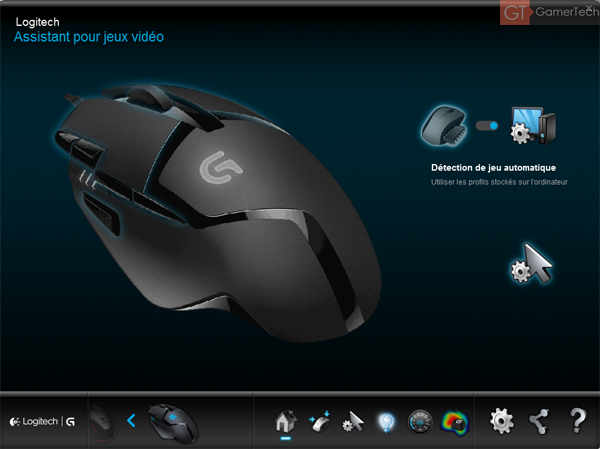 Logitech Gaming Software pour G402