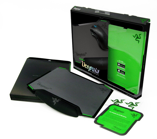 razer vespula test un tapis gaming rigide et polyvalent. Black Bedroom Furniture Sets. Home Design Ideas