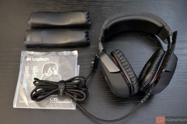 Unboxing Logitech G35