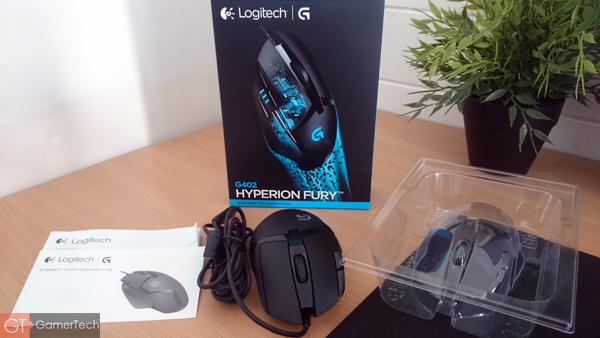 Unboxing Logitech G402