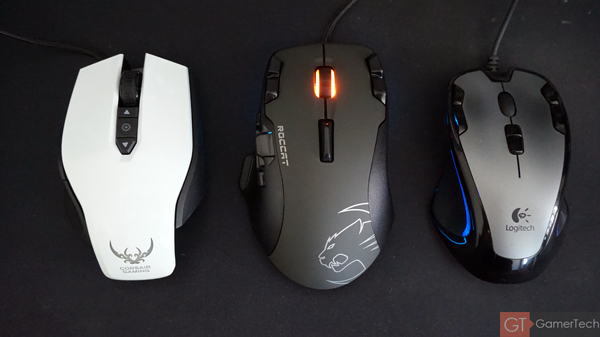 Comparatif taille souris gamer