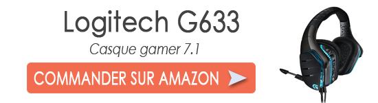 Logitech G633 | TEST | Un casque 7 1 polyvalent