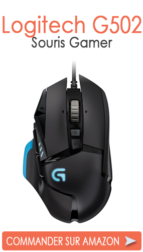 logitech g502 test la meilleure souris pour fps. Black Bedroom Furniture Sets. Home Design Ideas