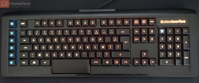 SteelSeries Apex M800 vue de haut