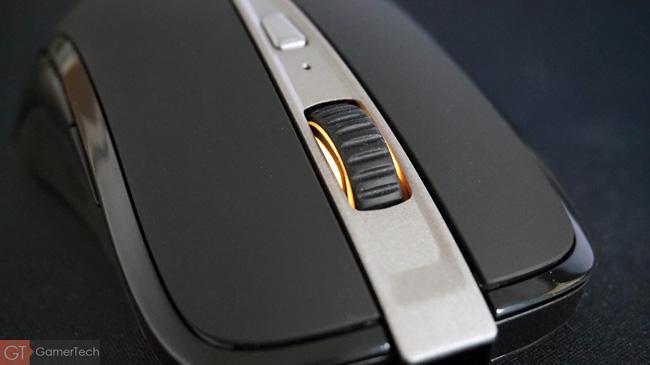 Zoom molette et indicateur decharge