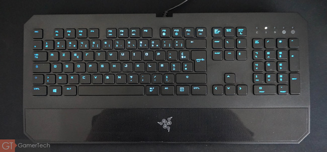 Clavier gamer à chiclet