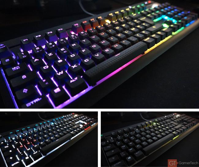 Effet de rétroéclairage RGB