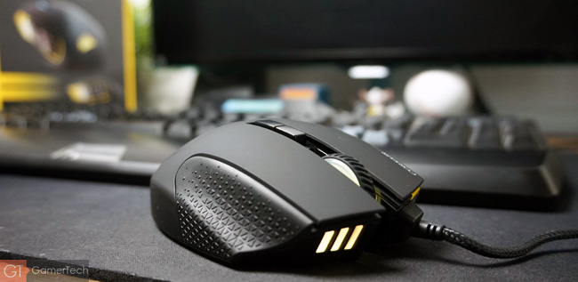 Souris gaming MOBA et MMO