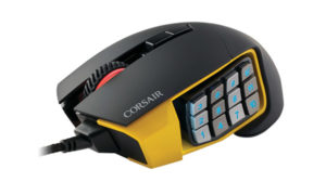 Test de la souris Corsair Scimitar RGB