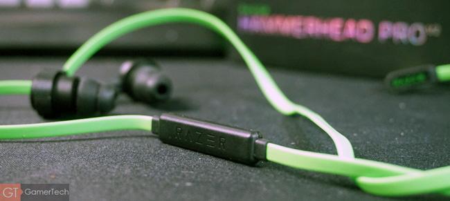 Microphone in-line sur Razer Hammerhead