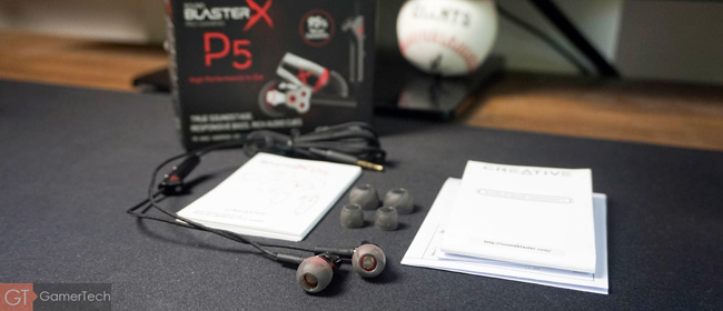 Unboxing Sound BlasterX P5