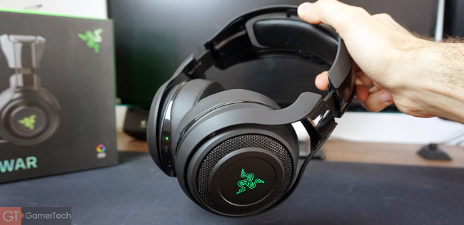 Casque gaming imposant et wireless