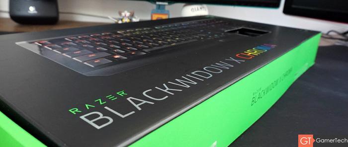 Emballage du nouveau clavier de Razer