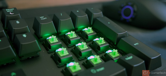 Interrupteurs mécaniques RGB Razer Green
