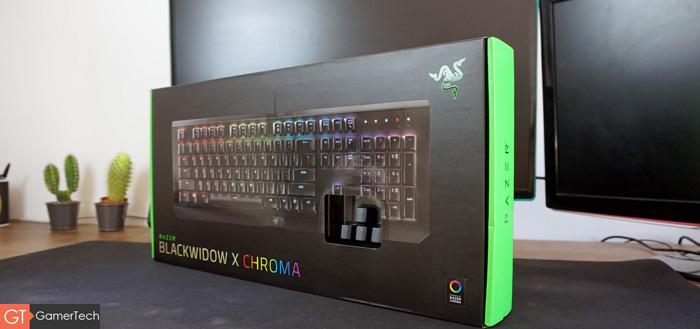 Packaging du clavier