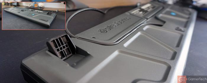Base du clavier et pieds retractables