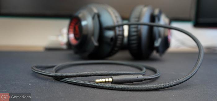 Câble tressé 3.5mm à 4 poles