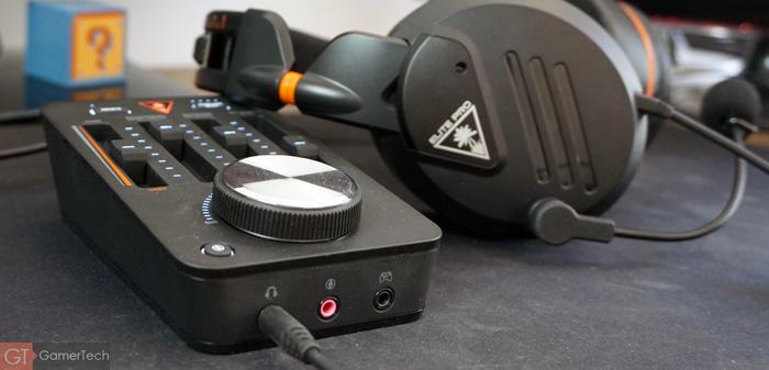 Casque gamer avec mixeur audio
