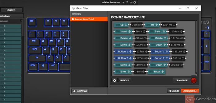 Création de macro sur clavier steelseries