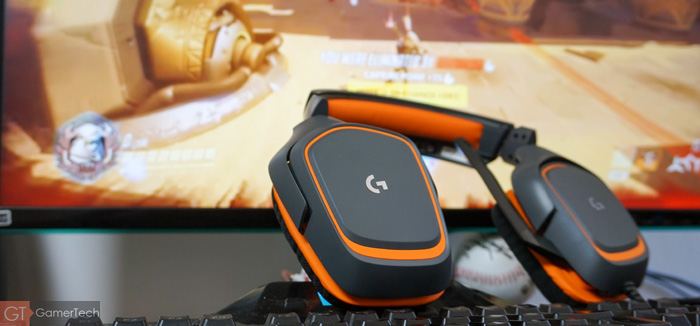 Casque gamer sur Overwatch