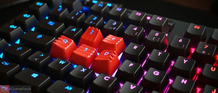 Clavier PC avec éclairage RGB complet