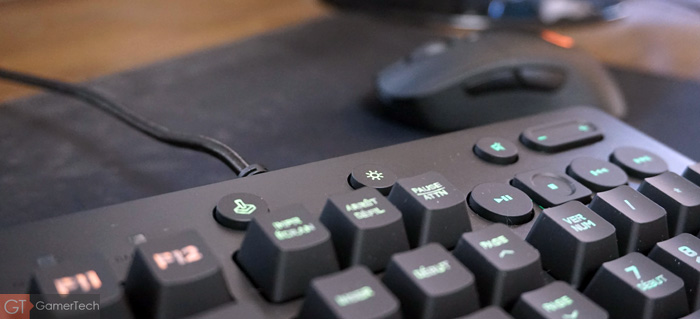 Clavier mode gaming