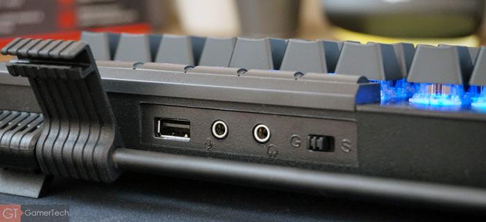 Connectique du GSkill KM780