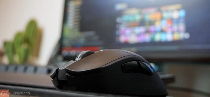 Souris gamer sans-fil et sans latence