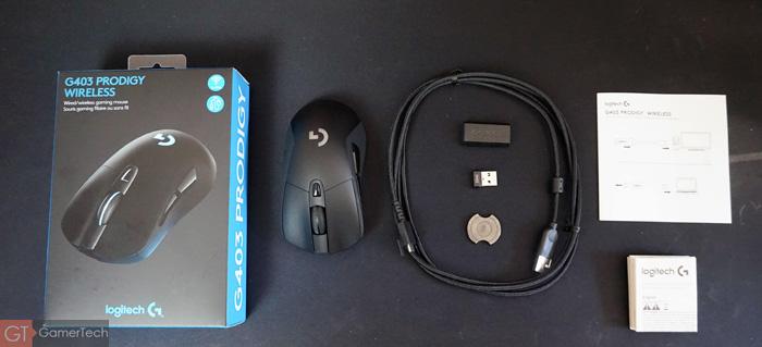 Unboxing Logitech G403 Prodigy Wireless