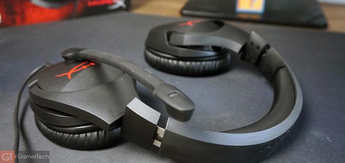 Casque PC et PS4 qui se replie à plat