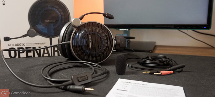 Unboxing Audio-Technica ATH-ADG1X