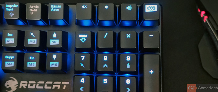 Game Mode Clavier Roccat