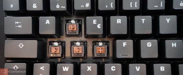 Interrupteurs mécaniques TTC Brown