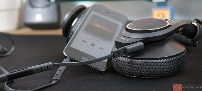 Micro-casque pour écouter la musique