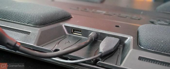 Connectique du lapboard Roccat Sova MK