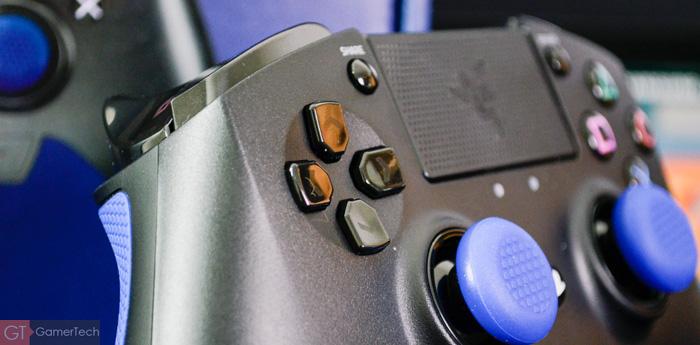 D-Pad sur manette PS4 Razer