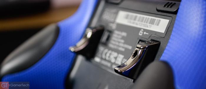 Gachette arrière sur manette PS4