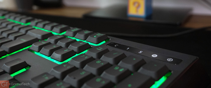Indicateurs visuels sur clavier Razer