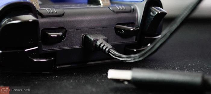 Manette PS4 filaire sans lag