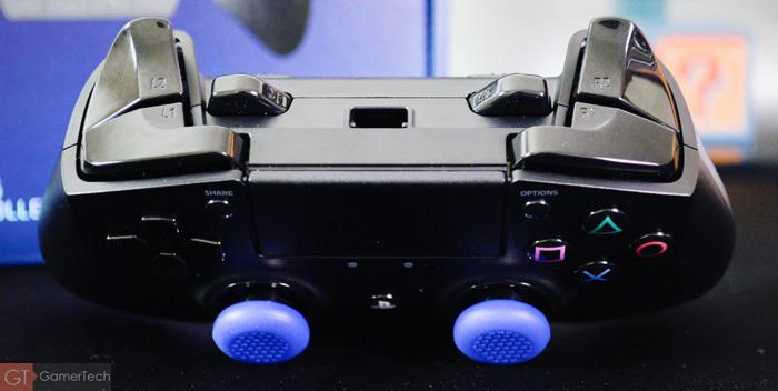 Manette PS4 avec triple bumpers