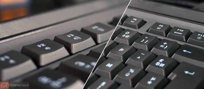 Raccourcis multimédia sur clavier Roccat