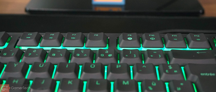 Touches multimédias Razer Ornata