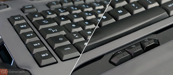 Clavier gamer avec touches macros