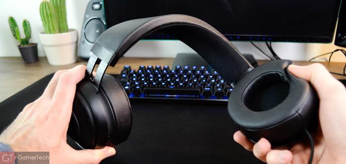 Casque gamer PC PS4 solide et flexible